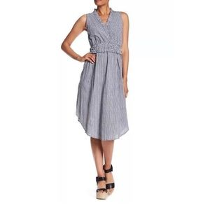 Hope & Harlow Gingham Midi Dress NWOT